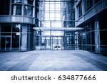 exterior of modern buildings | Shutterstock . vector #634877666
