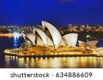 sydney  australia   21 february ...   Shutterstock . vector #634886609
