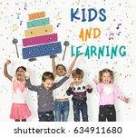 children early education... | Shutterstock . vector #634911680