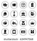 cooking icons | Shutterstock .eps vector #634947068