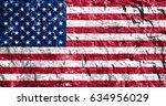 flag of united states | Shutterstock . vector #634956029