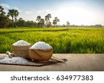 Steamed Jasmine Rice In Wooden...