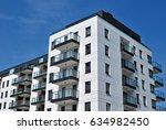 modern  luxury apartment... | Shutterstock . vector #634982450