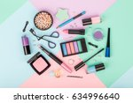 set of professional decorative... | Shutterstock . vector #634996640