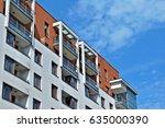 modern  luxury apartment... | Shutterstock . vector #635000390