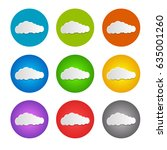 set cloud icon. colorful....