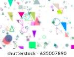 abstract motion blur  soft...   Shutterstock . vector #635007890