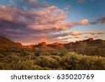 rock formations surrounding the ... | Shutterstock . vector #635020769