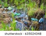 environmental pollution non... | Shutterstock . vector #635024348