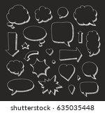 handcrafted elements. hand... | Shutterstock .eps vector #635035448