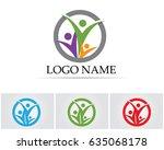 family care people logo   Shutterstock .eps vector #635068178