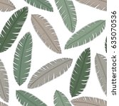tropical background with palm... | Shutterstock .eps vector #635070536