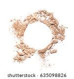 Texture Of Broken Powder For...
