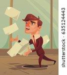 careless inattentive...   Shutterstock .eps vector #635124443