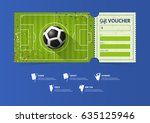 tickets template design for... | Shutterstock .eps vector #635125946
