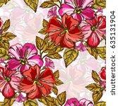 elegant seamless pattern with...   Shutterstock .eps vector #635131904