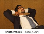 portrait of successful young... | Shutterstock . vector #63514654