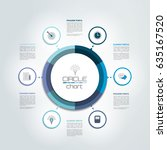 circle  round  infographic... | Shutterstock .eps vector #635167520