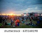 """Small photo of BIG ZAVIDOVO, Russia - July 6, 2012 Biggest russian rock open-air festival """"Nashestvie"""""""