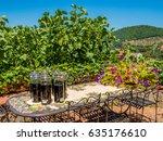 nocino   stock photo of bottles ... | Shutterstock . vector #635176610