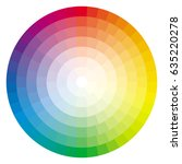 color wheel palette