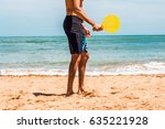low section of a man playing... | Shutterstock . vector #635221928