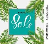 abstract designs final sale... | Shutterstock . vector #635238863