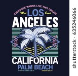 retro summer style tee print... | Shutterstock .eps vector #635246066