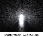 light at the end of the tunnel | Shutterstock . vector #635251808