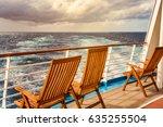 cruise ship deck   Shutterstock . vector #635255504