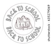 back to school | Shutterstock .eps vector #635279069