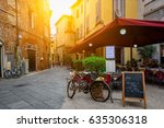 Old Cozy Street In Lucca  Ital...