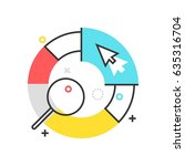 color box statistics icon ... | Shutterstock .eps vector #635316704