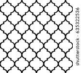 decorative geometric pattern ... | Shutterstock .eps vector #635322536