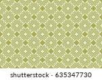 seamless geometrical pattern.... | Shutterstock .eps vector #635347730