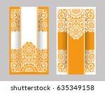 flyer  flyer  cover  pattern...   Shutterstock .eps vector #635349158