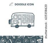 bus doodle | Shutterstock .eps vector #635358620