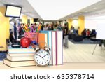 concept of back to school and... | Shutterstock . vector #635378714
