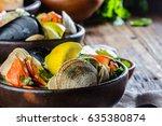 Seafood Shellfish Soup Of...