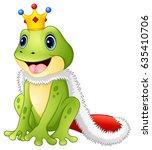 vector illustration of cute... | Shutterstock .eps vector #635410706