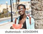 outdoor summer shot of happy...   Shutterstock . vector #635430494