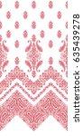 ornament pattern design | Shutterstock .eps vector #635439278