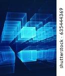 futuristic technology... | Shutterstock . vector #635444369