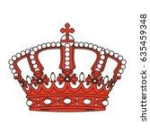 crown vector | Shutterstock .eps vector #635459348