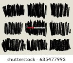 chalk texture background... | Shutterstock .eps vector #635477993