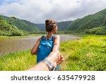 Hawaii Travel Nature Hiker...
