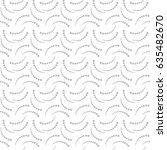 vector pattern. geometric... | Shutterstock .eps vector #635482670