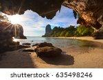 Thailand Railay Sand Beach View ...