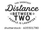 the shortest distance between... | Shutterstock .eps vector #635501780