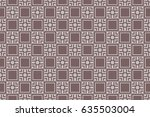 seamless geometric patterns.... | Shutterstock .eps vector #635503004